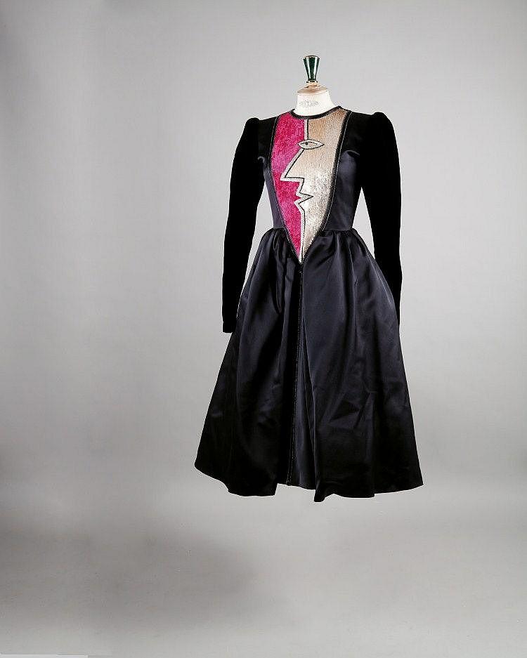 Yves SAINT LAURENT haute couture n° 48461