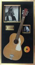 Janis Joplin: Acoustic Guitar and Album (Cheap Thrills)