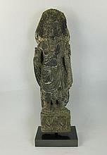 A GANDHARAN SCULPTURE OF A BODHISSATVA,