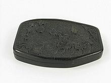 A QING DYNASTY CALIGRAPHIY STONE