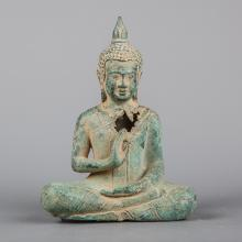 19th Century Ayutthaya Style Seated Thai Buddha