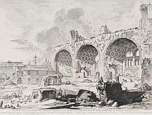 Giovanni Battista Piranesi (1720-1778) Veduta degl