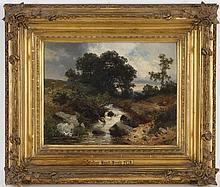 Eduard Emil August Leonhardi (1826-1905) Paysage a