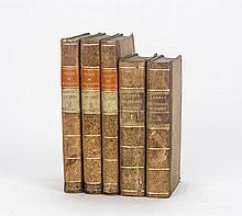[VOYAGE]. 2 ouvrages en 5 vol. ...