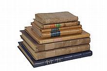 [ALPES]. 7 ouvrages en 8 vol. in-8° ...