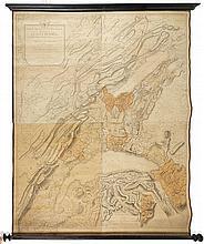 [HELVETICA]. 2 cartes géographiques ...