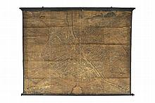 [TURGOT]. Plan de Paris. 1739. ...