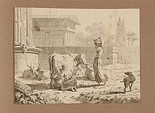 Ecole suisse du XVIII et XIXe s.     Paysages ...