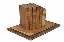 [SUISSE]. 5 ouvrages en 8 vol. ...