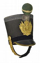 Shako d'armée de la garde royale   ...