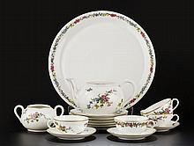 Service à thé en porcelaine de Langenthal ...