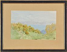 Gustave Doré (1832-1883) Vue du Léman ...