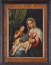Ecole italienne (XVIIe s.) Vierge ...