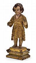 Saint-Jean Baptiste enfant sculpture ...