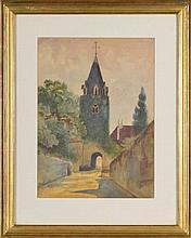 Tableaux Ferdinand Hodler (1853-1918) Eglise de