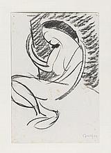 Tableaux  'Hans Berger (1882-1977) Nu féminin