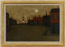 Tableaux Georges Girard (1917-2003) Port