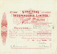Stratton's Independence, Limited