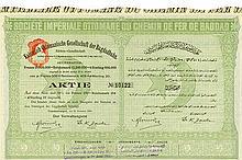 Kaiserlich Ottomanische Gesellschaft der Bagdadbahn / Imperial Ottoman Company of the Bagdad Railway