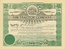 VIM Tractor Company