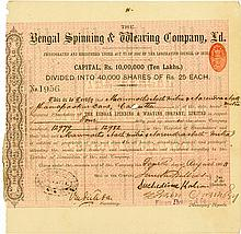 Bengal Spinning & Weaving Company, Ld.