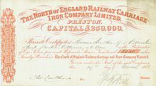 North of England Railway Carriage and Iron Company Ltd.