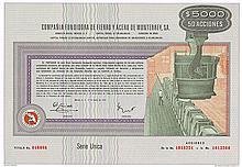 Compañia Fundidora de Fierro y Acero de Monterrey, S.A.
