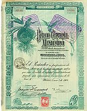 Banco Central Mexicano Sociedad Anónima [2 Stück]