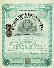 Banco de Guanajuato [2 Stück]