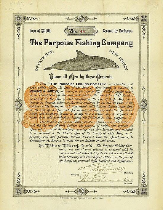 Porpoise Fishing Company