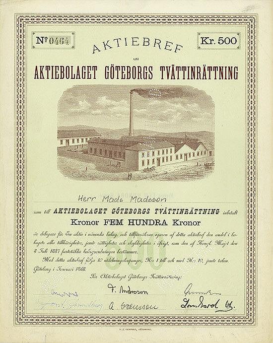 Aktiebolaget Göteborgs Tvättinrättning