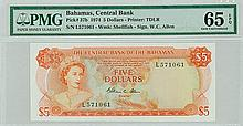 Bahamas - Central Bank of the Bahamas - Pick 37b