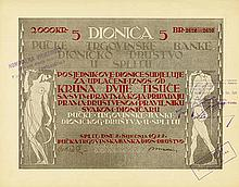 Volkshandelsbank in Split - Pucke Trgovinske Banke Dionicko Drustvo u Splitu