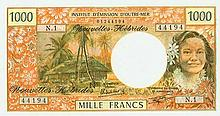 New Hebrides - Institut d'Èmission d'Outre-Mer - Pick 20-NEW