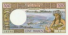 New Hebrides - Institut d'Èmission d'Outre-Mer - Pick 18c