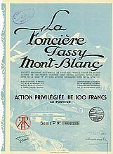 La Foncière Passy Mont-Blanc Société Anonyme