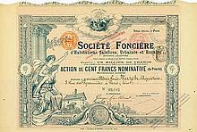 Société Foncière d' Habitations Salubres, Urbaines et Rurales Société Anonyme