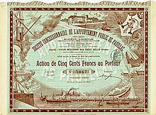 Société Concessionnaire de l'Appontement Public de Pauillac (Gironde) Société Anonyme