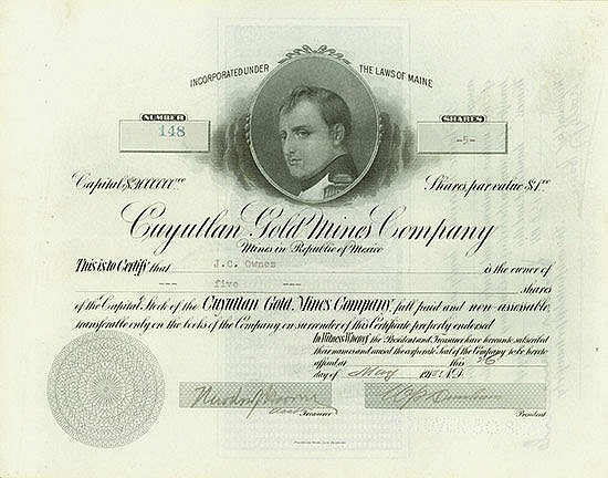 Cuyutlan Gold Mines Company