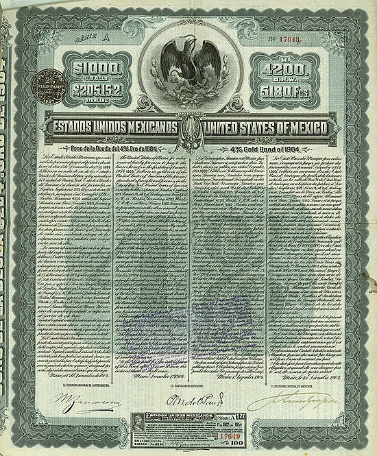 Estados Unidos Mexicanos / United States of Mexico