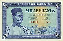 Mali - Banque de la République du Mali - Pick 4