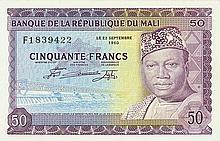 Mali - Banque de la République du Mali - Pick 6