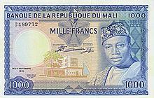 Mali - Banque de la République du Mali - Pick 9