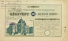 Magyar vigszinház-reszvenytarsasag / Ungarisches Lustspieltheater