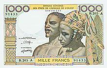 Ivory Coast - Banque Centrale des États de l'afrique de l'Ouest - Pick 103A n