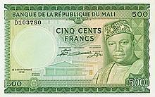Mali - Banque de la République du Mali - Pick 8