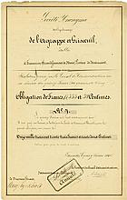 Société Anonyme des Charbonnages de l'Agrappe et Grisvenil établie á Frameries, arrondissement de Mons, Province de Hainaut