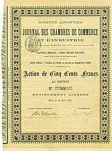 Société Anonyme du Journal des Chambres de Commerce et d'Industrie