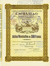 Compagnie Francaise des Chocolats & des Thés L. Schaal & Cie. [3 Stück]