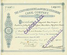 Staffordshire and Worcestershire Canal Company